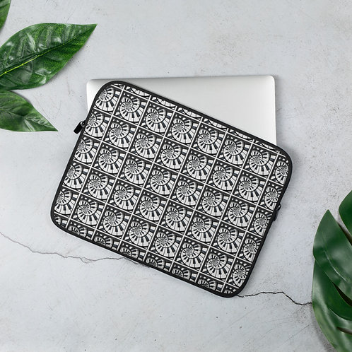 Piano Spiral Laptop Sleeve
