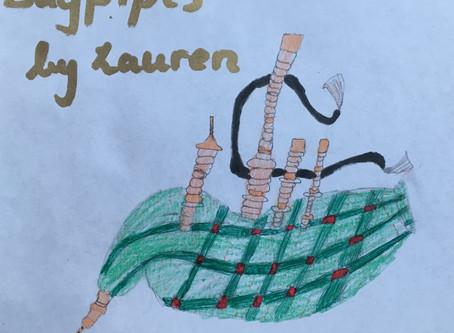 Instrument: Bagpipes by Lauren