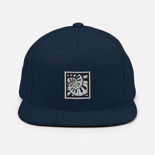 Piano Spiral Snapback Hat
