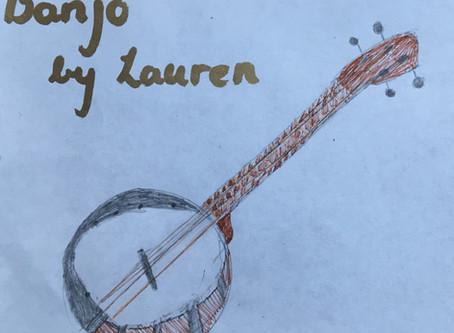 Instrument: Banjo by Lauren
