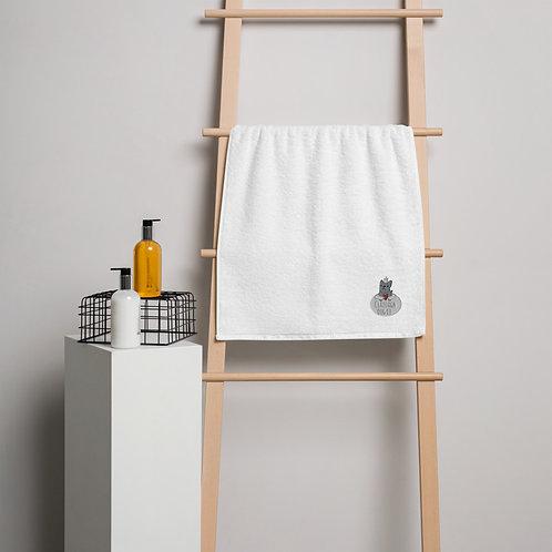 Claddagh Dog Co cotton towel