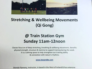 Wellbeing Class @ Train Station Gym