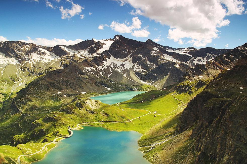 Italian mountain landscape, explore, live, travel,share