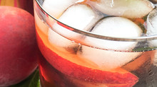 Ginger-Peach Iced Tea