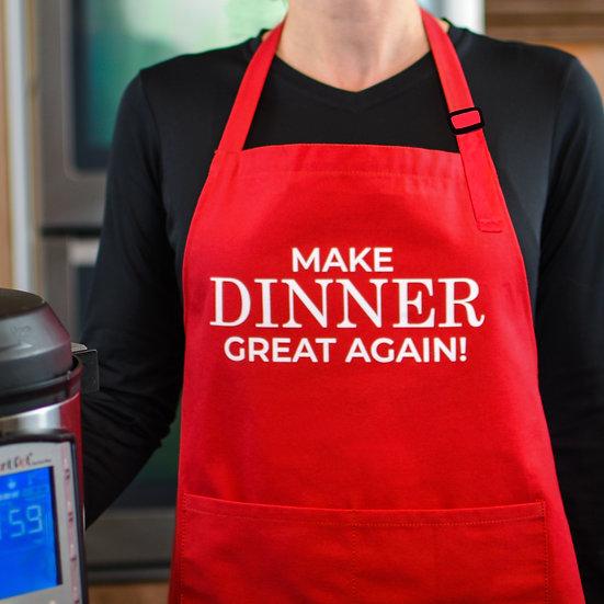 Make Dinner Great Again - Apron