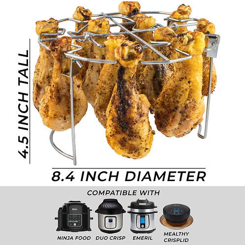 The Steam Boss - Air Fryer Vertical Chicken Grill Rack