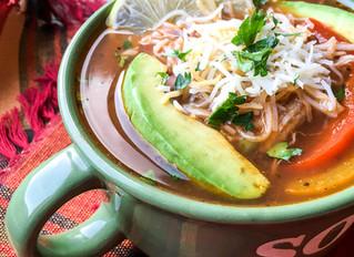 Instant Pot® Chicken Fajita Soup