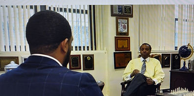 Dr Brown pic in interview.jpg