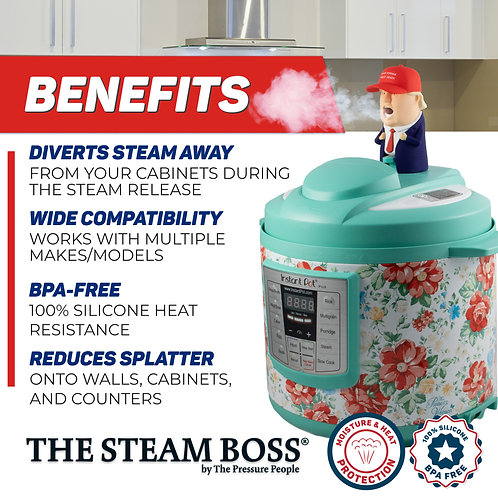 The Steam Boss - POTUS (4-PACK)