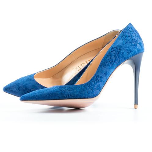 5f52fa49a8 ... kék magassarkú cipő; kék tűsarkú cipő ...