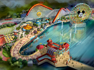 Park Spotlight: Pixar Pier Details Released