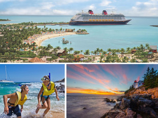 Disney Cruise Line Sails from CA, NY & TX in 2017
