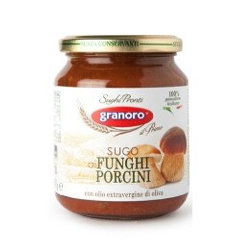 Salsa de Tomate con Champiñones, 370g