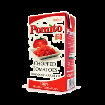 Tomates en cubos, Pomito 1000g