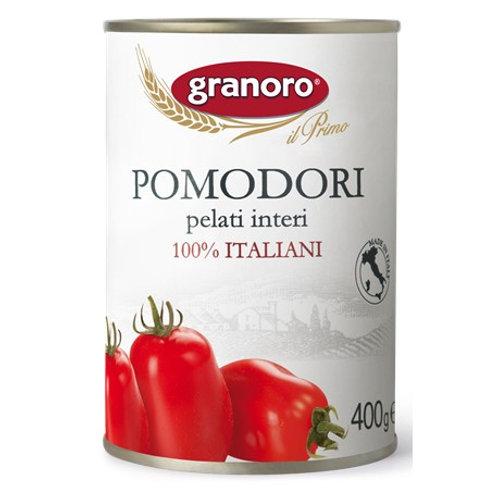 Tomates Pelados Granoro, 400 gr