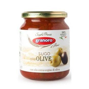 Salsa de Tomate con aceitunas, 370g