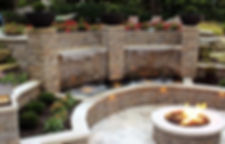 Deerwood Landscaping | Official Allan Block Distributor | AB Old Country Courtyard