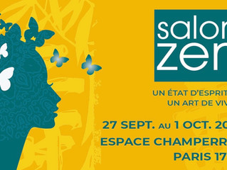 Simone Berno sera au Salon Zen à Paris du 27 sept. au 1oct. 2018