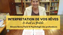 Simone Berno, une émission en direct sur l'analyse de vos rêves, le 30 avril 2021