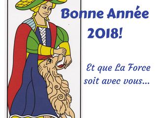 Tous mes meilleurs voeux pour 2018