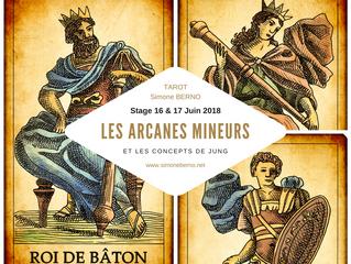 Le 16 & 17 juin 2018, Stage Arcanes Mineurs et les concepts de Jung