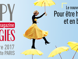 Simone Berno au Salon Be Happy du 9 au 12 Novembre 2017