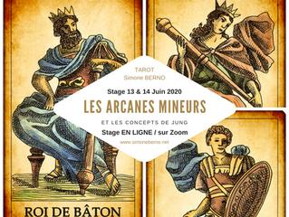 Stage en ligne, arcanes mineurs et types psychologiques - 13 & 14 juin 2020