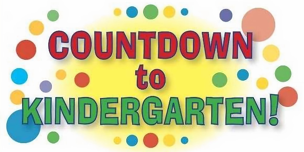Countdown to Kindergarten - The BIG Transition to Elementary School