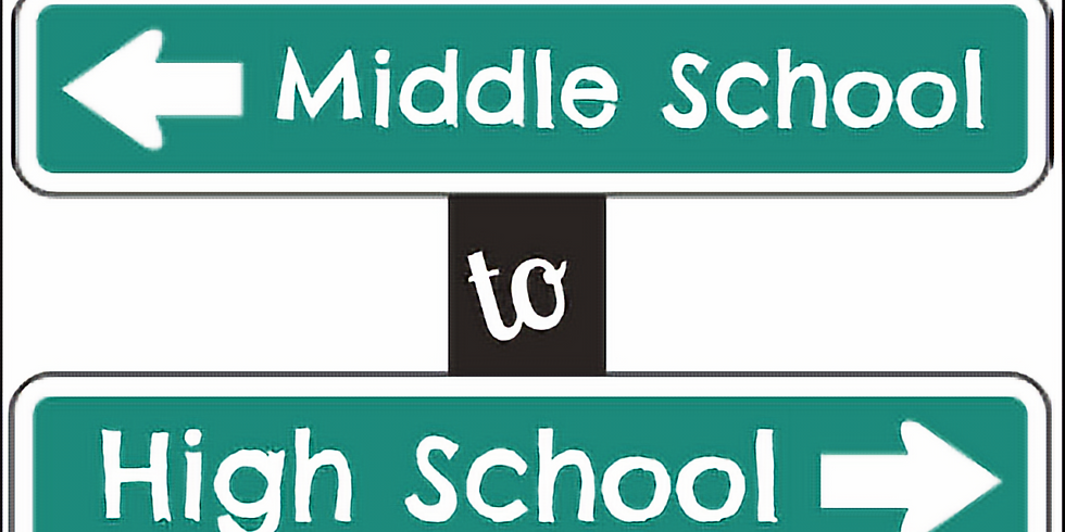 Parent to Parent: Middle School to High School Transtion - POSTPONED