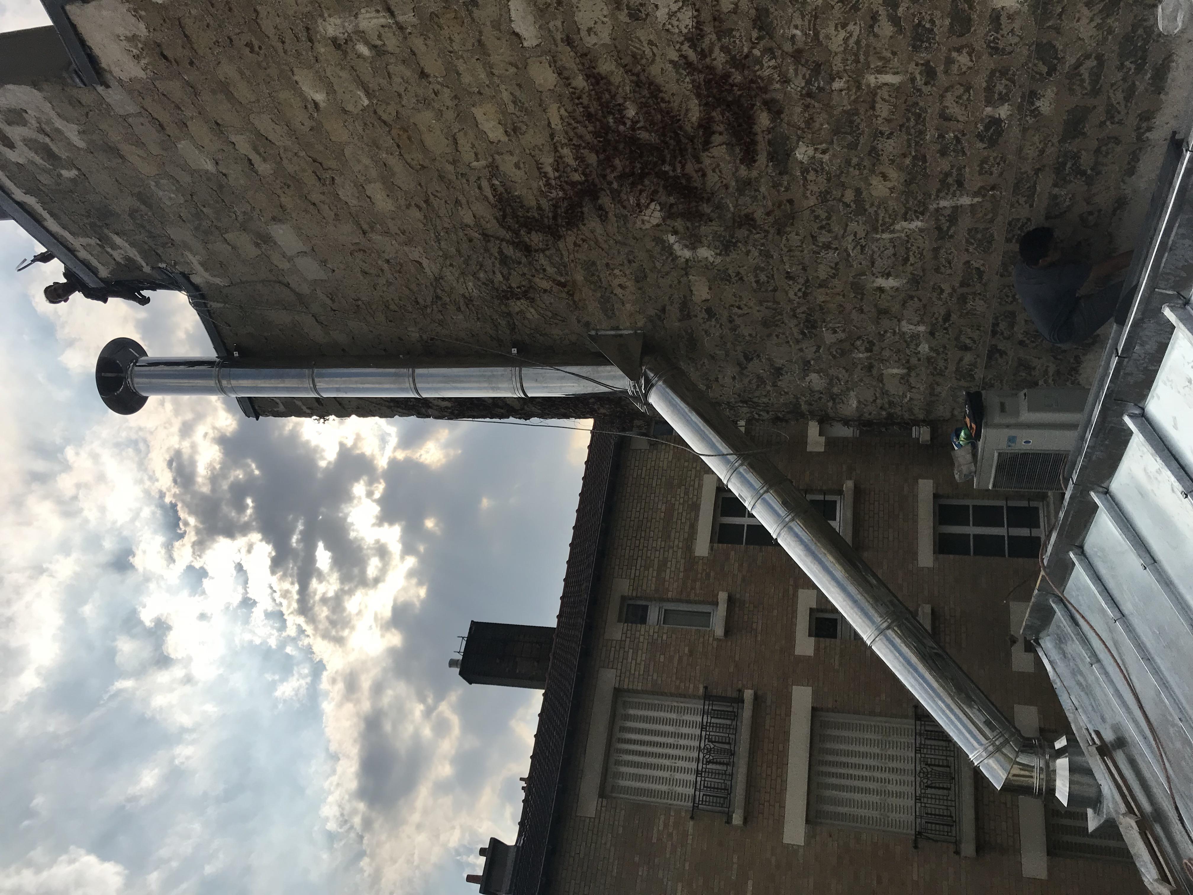 Conduit de cheminée Isolé