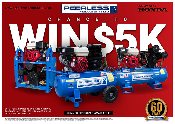 PEERLESS promotion poster - Petrol 5K we