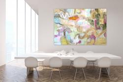 Passage  48x70 oil on linen canvas