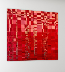 Collection  2012   «  Red mosaic «  50x5