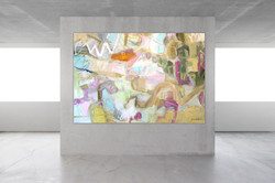passage #1 48x70 oil on linen canvas