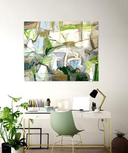 'My Garden' 36x48 oil on linen