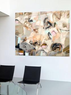 Solitude  65 x75 oil on linen Canvas