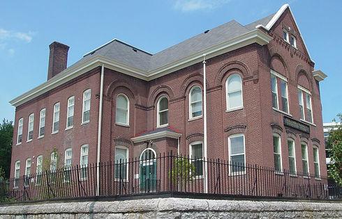Franklin School Apartments - Exterior cu
