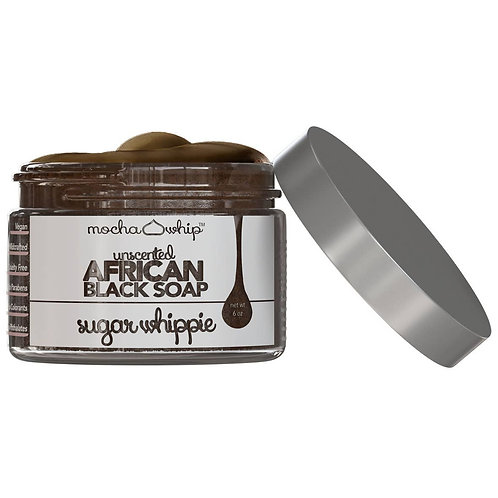 African Black Soap Sugar Whippie - Unscented