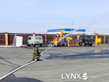Станция внутреннего пожаротушения LYNX PP по ул. Ивана Титкова, д. 1/1