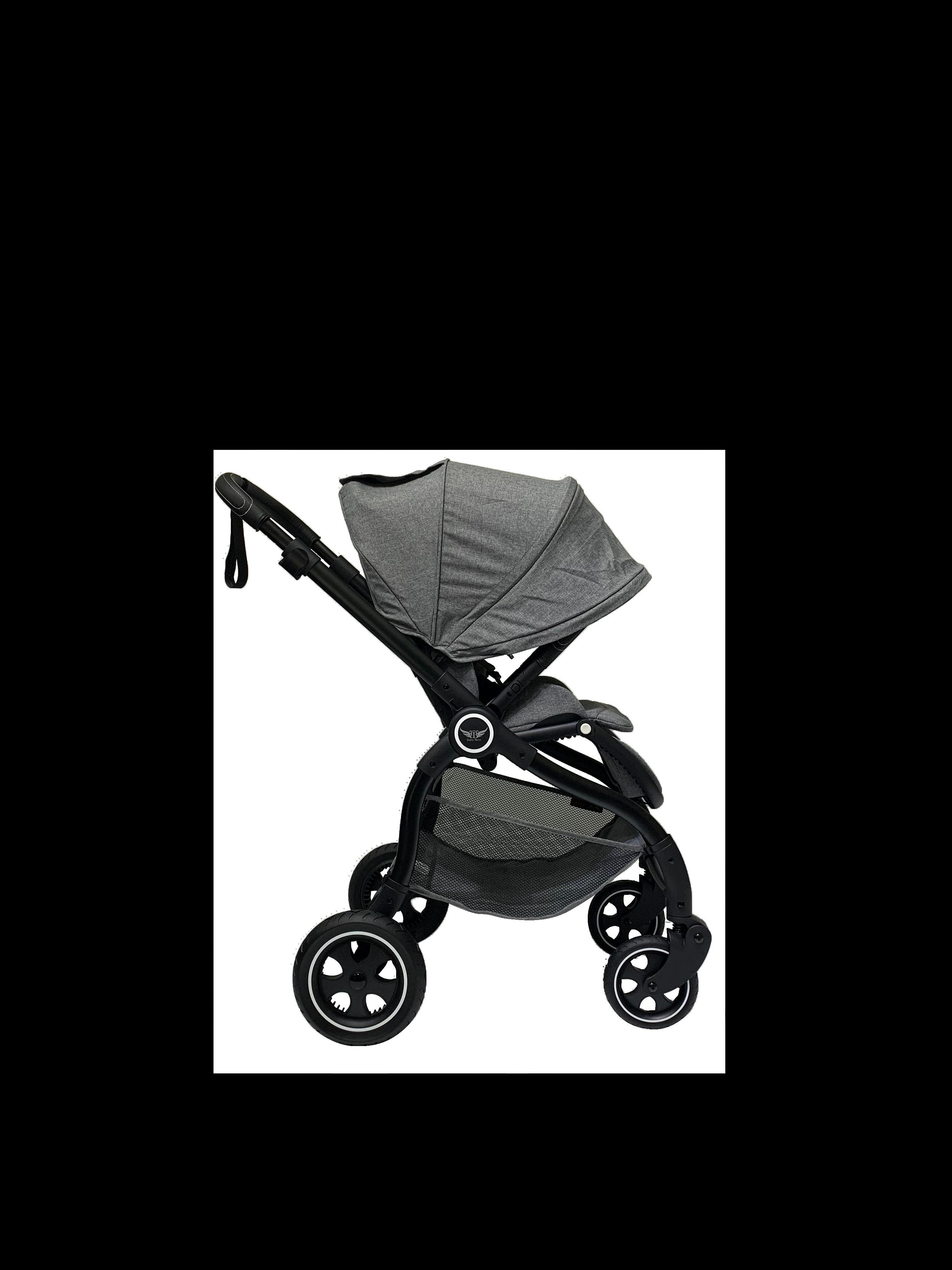 טייגר 2 צבע אפור שלדה שחורה