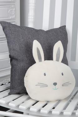 Fluffy the Rabbit Comfi Snuggle Pillow L