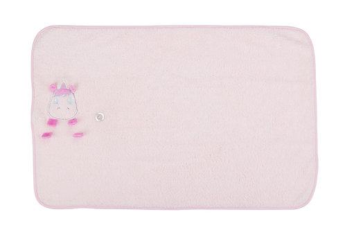 שמיכה לעגלת תינוק ההופכת לבובה ספארקלס החד קרן - קאדלקו