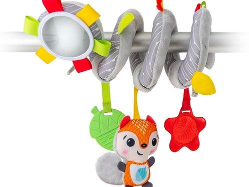 צעצוע ספירלה לעגלה או לסלקל בנבת