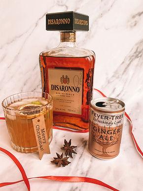 Disaronno, Fever Tree Ginger Ale