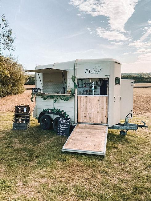 Horsebox Bar | GIn Bar | Mobile Bar Hire