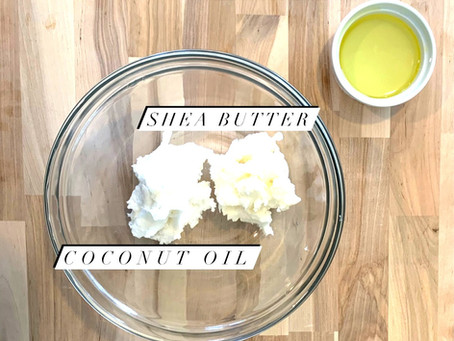 Whipped Shaving Cream with 4 ingredients