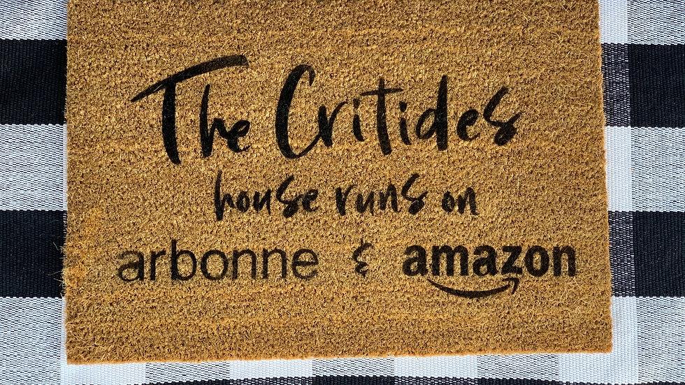 Arbonne & Amazon Doormat