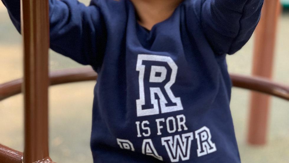 R is for Rawr Youth Sweatshirt