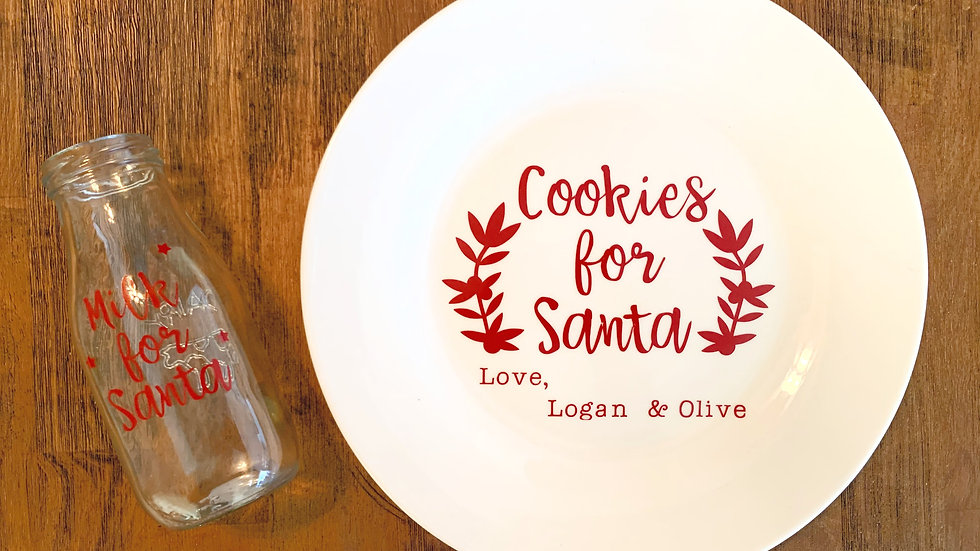 Milk & Cookies for Santa