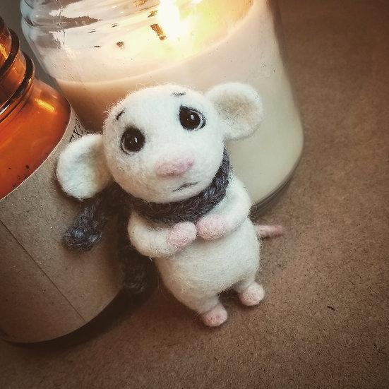 Custom order for Carol - Nervous Mouse and Downtrodden Bunny